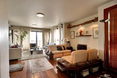 SALA AMBIENTES (LAREIRA) - Apartamento 4 Dormitórios