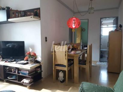SALA JANTAR_ESTAR - Apartamento 1 Dormitório