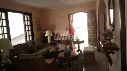 SALA DE ESTAR - Casa 6 Dormitórios