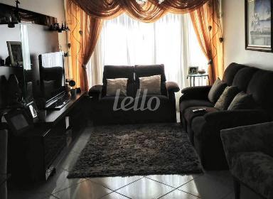 SALA COM DOIS AMBIENTES - Apartamento 3 Dormitórios