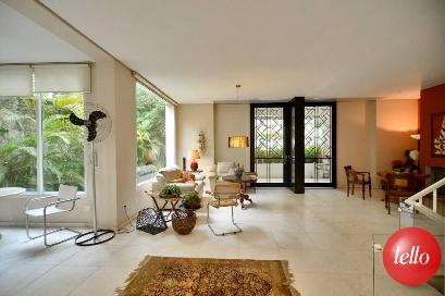 SALA AMBIENTES - Casa 4 Dormitórios