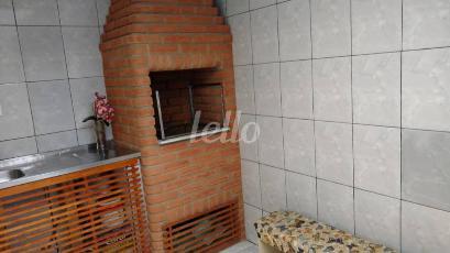 ÁREA DE CHURRASCO - Casa 2 Dormitórios
