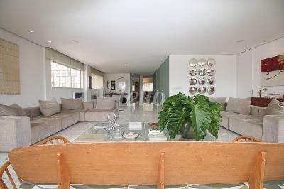 SALA DE ESTAR E LIVING - Apartamento 2 Dormitórios