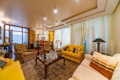 SALA 3 AMBIENTES - Casa 4 Dormitórios