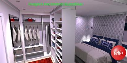 DORMITÓRIO / CLOSET - Apartamento 2 Dormitórios