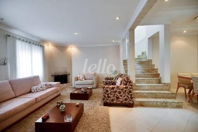 SALA DE LAREIRA - Casa 3 Dormitórios