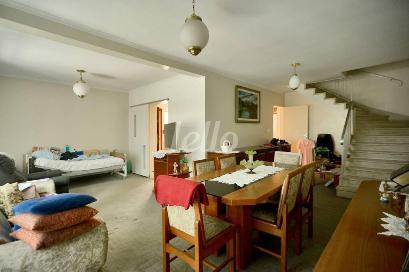 SALA DOIS AMBIENTES - Casa 6 Dormitórios