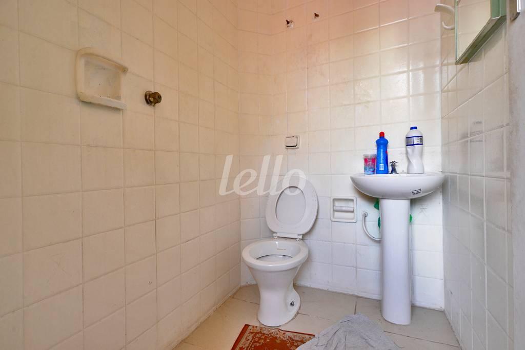 LAVABO DE SERVIÇO - Casa 3 Dormitórios