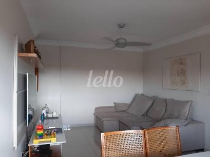 SALA ESTAR E JANTAR - Apartamento 2 Dormitórios