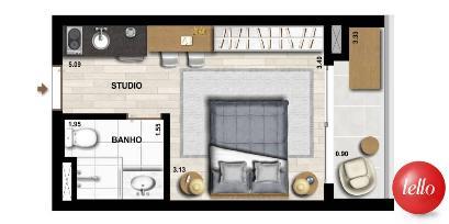 PLANTA BAIXA - Apartamento 1 Dormitório