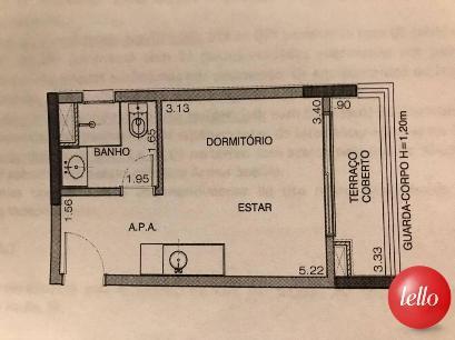 PLANTA BAIXA 1 - Apartamento 1 Dormitório