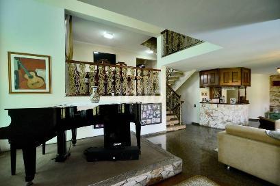 SALA VÁRIOS AMBIENTES - Casa 4 Dormitórios