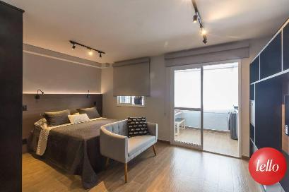 SALA/ DORMITÓRIO - Apartamento 1 Dormitório