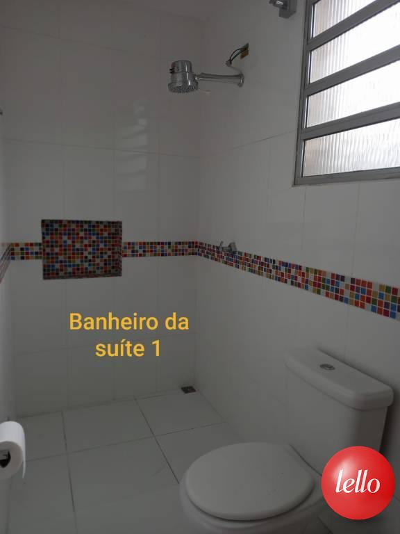 BANHEIRO SUITE 1 - Casa 3 Dormitórios