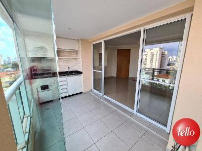 SACADA COM CHURRASQUEIRA - Apartamento 3 Dormitórios