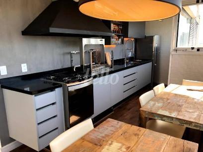 ÁREA CHURRASQUEIRA - Apartamento 3 Dormitórios
