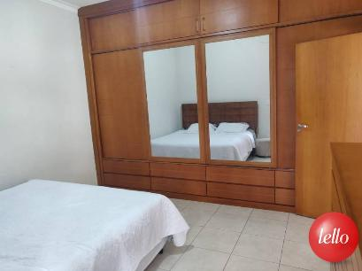 ARMARIO MACIÇO EMBUTIDO SUÍTE - Casa 2 Dormitórios