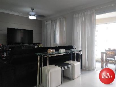 SALA ESTENDIDA  - Apartamento 3 Dormitórios