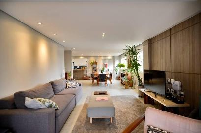 SALA TRÊS AMBIENTES - Apartamento 2 Dormitórios