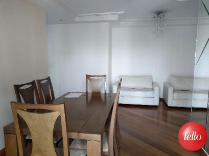 SALA 2 AMBIENTES - Apartamento 2 Dormitórios