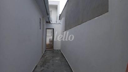 CORREDOR EXTERNO - Casa 1 Dormitório