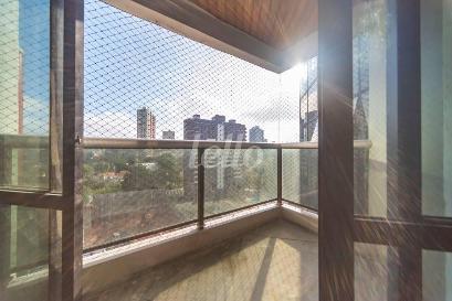VARANDA DA SALA - Apartamento 4 Dormitórios