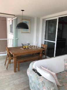 SALA - VARANDA - Apartamento 3 Dormitórios