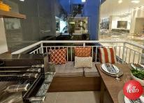 DECORADO SACADA - Apartamento 2 Dormitórios