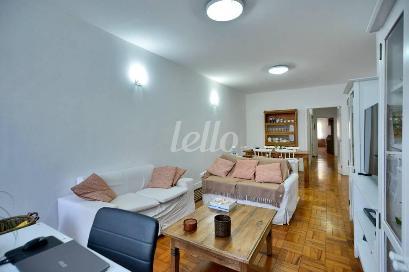 SALA DOIS AMBIENTES - Casa 4 Dormitórios
