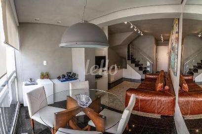 SALA INTEGRADA - Apartamento 3 Dormitórios