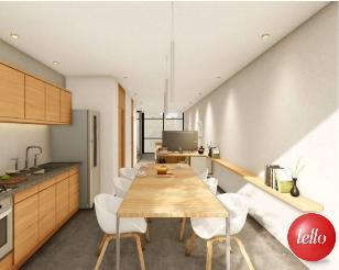 COZINHA / SALA DE JANTAR - Casa 2 Dormitórios