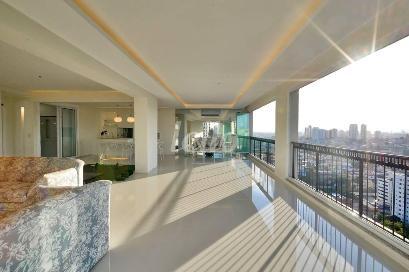 SALA AMBIENTES - Apartamento 4 Dormitórios