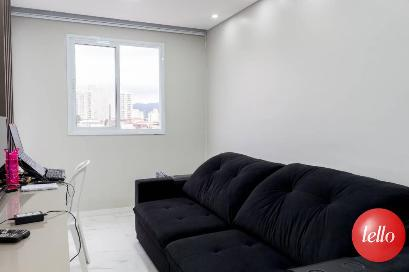 SALA DE ESTAR - Apartamento 1 Dormitório