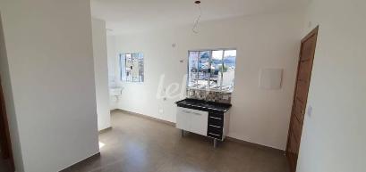COZINHA E ÁREA DE SERVIÇO - Apartamento 2 Dormitórios