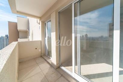 VARANDA DA SALA - Apartamento 2 Dormitórios