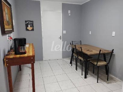 SALA DE ALMOÇO - Apartamento 3 Dormitórios