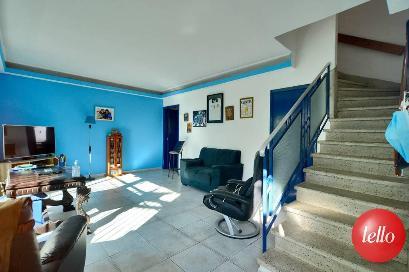 SALA DOIS AMBIENTES - Casa 5 Dormitórios