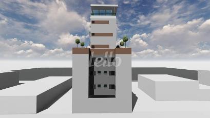 FACHADA - FUNDOS  - Apartamento 1 Dormitório
