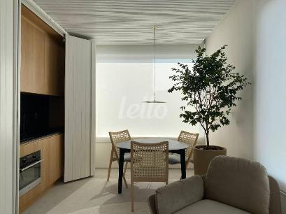 MESA DE JANTAR / COZINHA - Apartamento 1 Dormitório