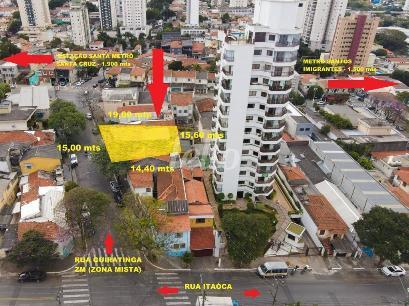 VISÃO AÉREA DO TERRENO  - Área / Terreno