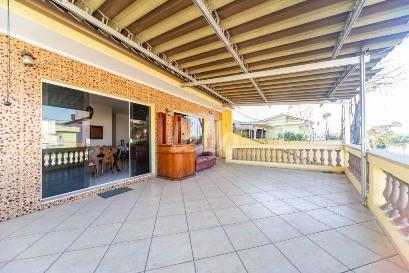 VARANDA DA SALA (CASA 1) - Casa 6 Dormitórios