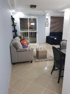 SALA DE ESTAR COM VARANDA - Apartamento 2 Dormitórios
