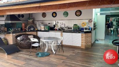 AREA GOURMET - Casa 3 Dormitórios
