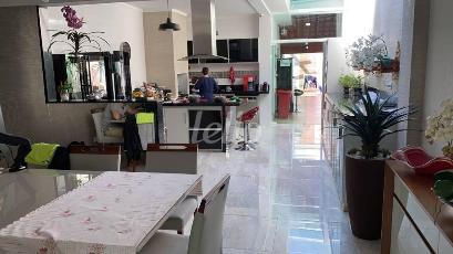 SALA DE JANTAR E COZINHA - Casa 3 Dormitórios