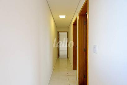 CORREDOR INTERNO - Apartamento 2 Dormitórios