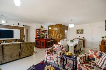SALA TRÊS AMBIENTES - Apartamento 3 Dormitórios