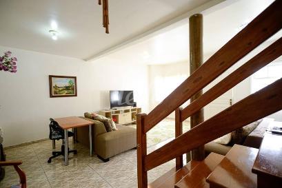SALA DOIS AMBIENTE - Casa 3 Dormitórios