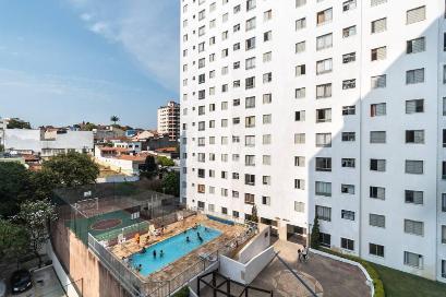 VISTA DA SALA - Apartamento 1 Dormitório