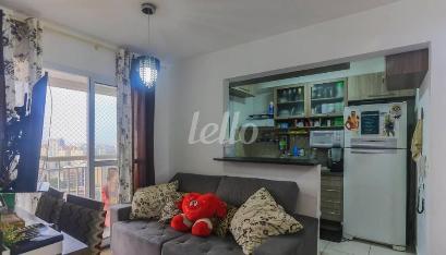 SALA E COZINHA - Apartamento 2 Dormitórios