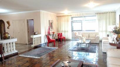 LIVING  - Apartamento 5 Dormitórios